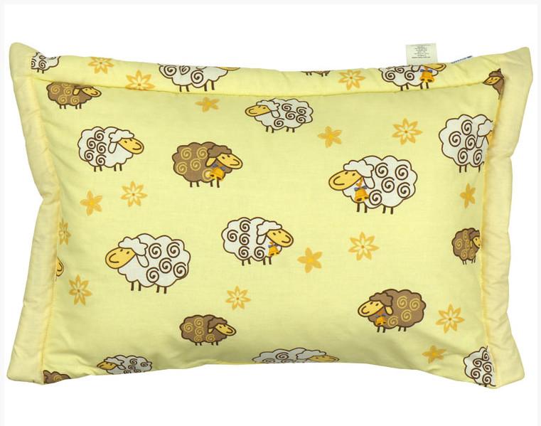 Детская подушка с наполнителем из шерсти фото №1