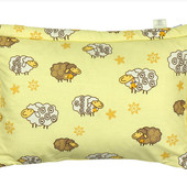 Детская подушка с наполнителем из шерсти