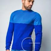 Стильный мужской свитер 50-54р.