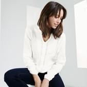 легкая нежная блуза молочного цвета Тсм Чибо.  XL