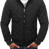 Мужская короткая куртка без капюшона евро-зима