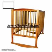 Детская кровать немовля №2