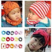 Хомуты, снуды, шарфы трикотажные детские.
