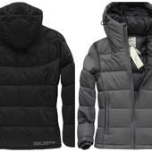 Мужская зимняя теплая куртка пуховик натуральный