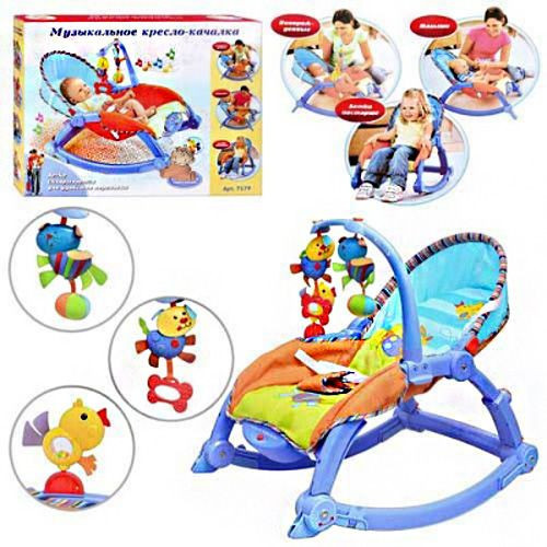 Детское кресло-шезлонг 7179 фото №1