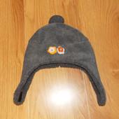 Акция!Фирменная зимняя шапка для девочки 3-5 лет, 52 см