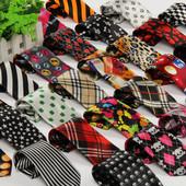 Мега стильные галстуки модных расцветок для маленьких модников и модниц.