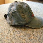 Джинсовая кепка бейсболка на 2-3 года