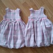 Платье Mothercare на 2-4 г, можно для двойняшек