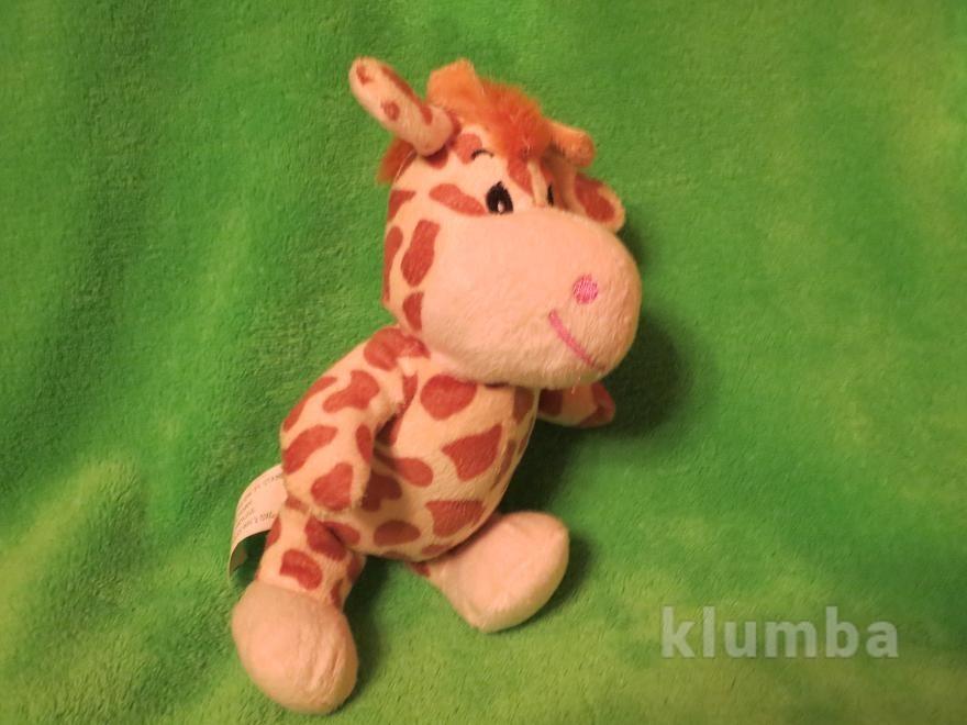 Жираф.дед мороз.мягкая игрушка.мягкие игрушки.мягка іграшка.cuddles collection фото №1
