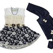 Нарядне плаття для дівчат 92-98-104рр.