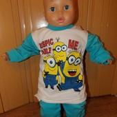 Мягусенькие теплюсенькие пижамки девочкам и мальчикам