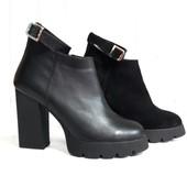 Стильные ботинки Натуральная кожа и замша