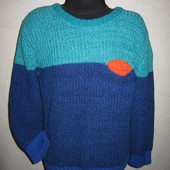На 5-6 лет Теплый красивый х\б свитер H&M мальчику