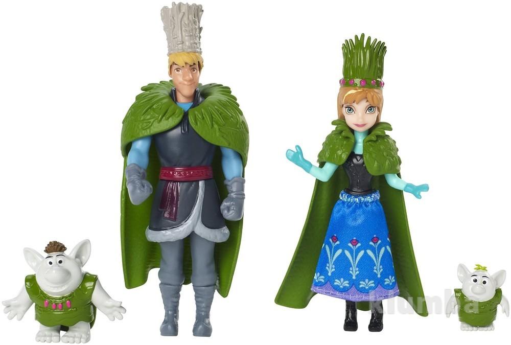 Набор мини кукол frozen анна и кристофф свадебный сюжет. распродажа! фото №1