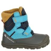 Детская зимняя термо обувь фирма Quechua,НЕ промокают    р20 27. Польша