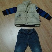 одежда для мальчика 12-18мес.