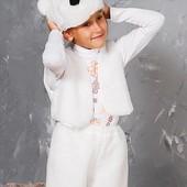 Карнавальный Новогодний  костюм Белого Мишки