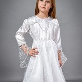 Карнавальный Новогодний  костюм Снежинка