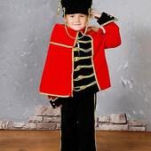 Карнавальный Новогодний  костюм Гусар