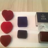 Подарочные Коробочки для украшений от 25 грн новые