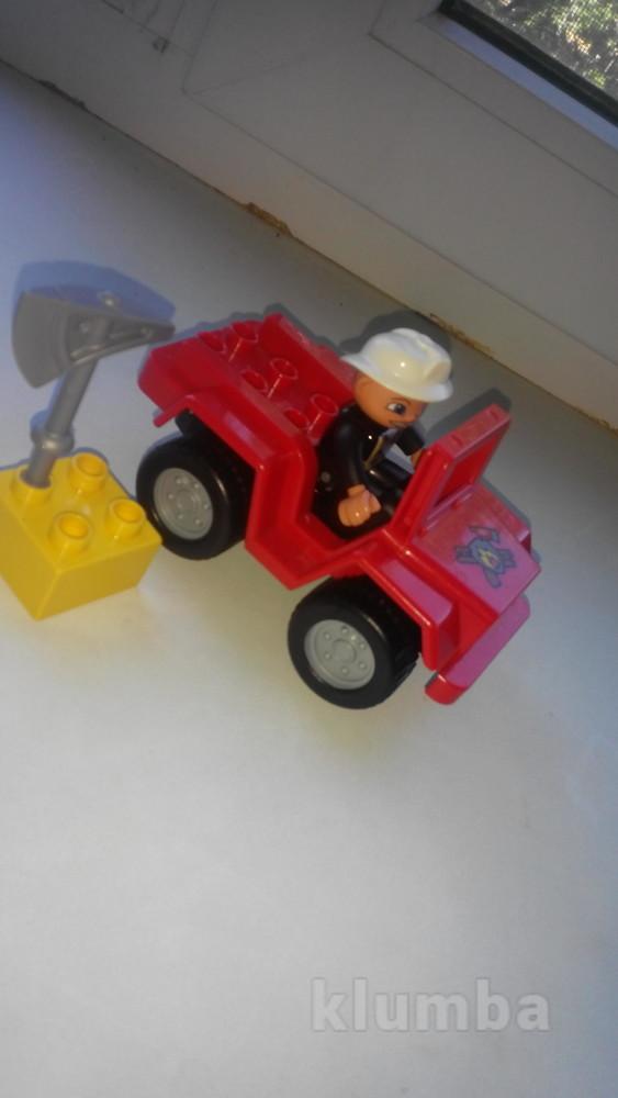 Начальник пожарной охраны lego duplo фото №1