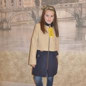 Кашемировое пальто Микс цветов