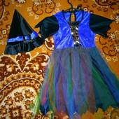 карнавальное платье 4-8 лет