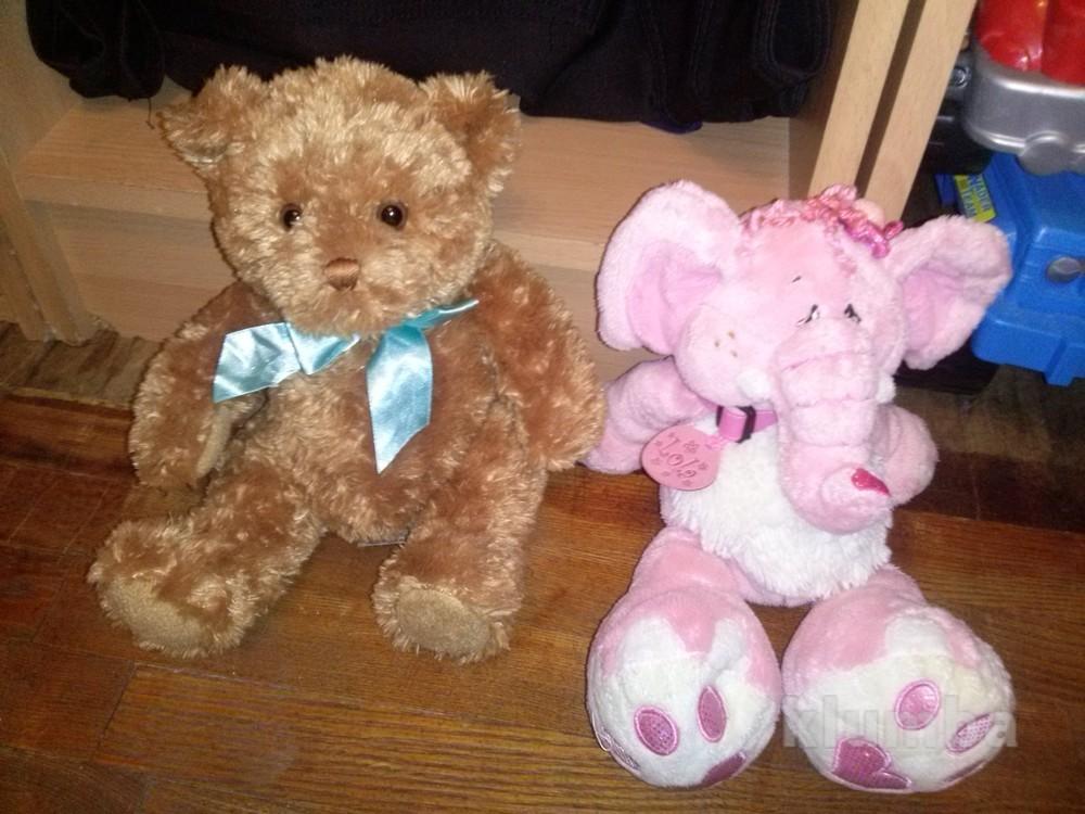 Мягкий мишка и слон keel toys фото №1
