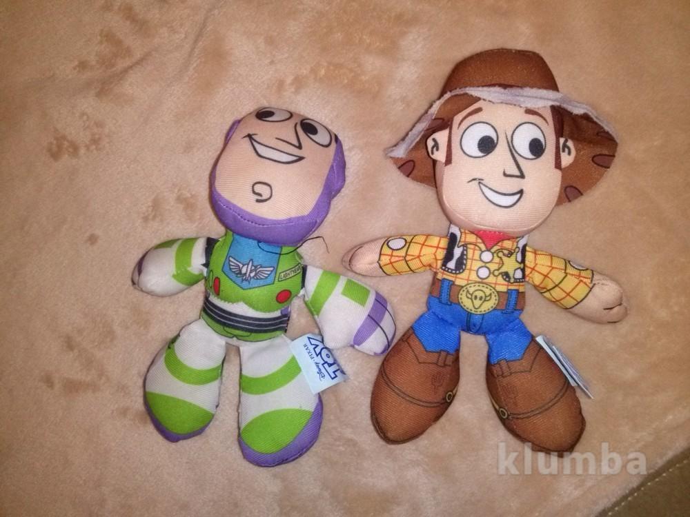 Ковбой и базз лайтер (buzz lightyear) от disney (toy store) фото №1