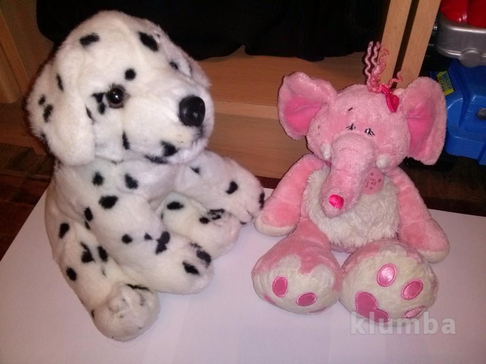 Мягкая собачка и слон keel toys фото №1