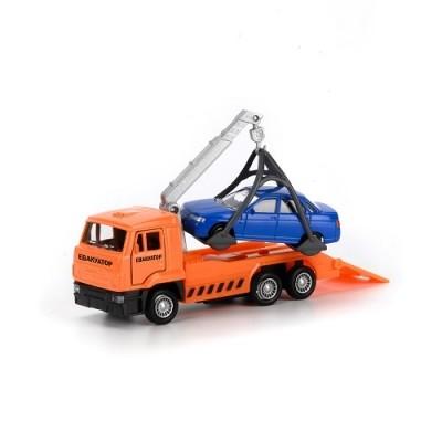 Технопарк игровой набор автомодель эвакуатор, машинка фото №1