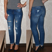 продам модные рваные джинсы Oodji 26 размер 10  стильные лето 2017