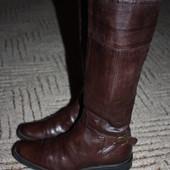 кожаные,утепленные сапожки.Размер 37