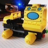 Конструктор Brick Подводная серия. 122 детали. Артикул 1213