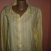 рубашка,блуза р-р 16 коттон benotti