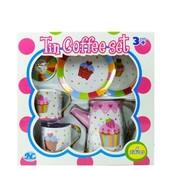 Распродажа -  Жестяной кофейный сервиз Кексик ( 6 предметов ) от Tin Tea Set