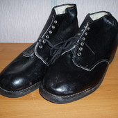 Ботинки хромовые офицерские