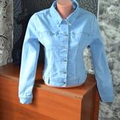 Джинсовая куртка без дефектов