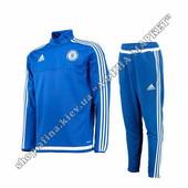 Футбольный костюм тренировочный Челси Adidas Blue 2015-2016 (1814)