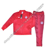 Спортивный костюм Adidas Бавария Мюнхен teamline tracksuit 2016 red (1793)