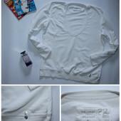Свитшот белый под майку или блузу. Размер XL