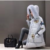 Зимняя куртка пальто парка с капюшоном.Хит сезона  2017