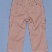 Распродажа - Брюки мирковильвет для девочки на рост 74, 81 см. от  Lemani