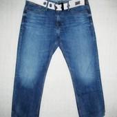 Качественные джинсы, на не высокого мужчину Denim (оригинал) р. W34 L30 Тунис.