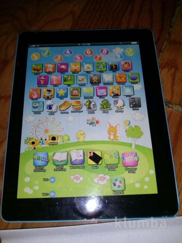 Интерактивная игрушка планшет фото №1