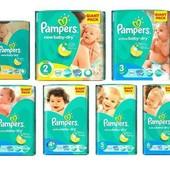Pampers Active Baby все размеры в наличии, Памперс актив бэби