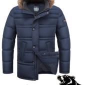 Зимняя куртка мужская  Больших размеров Braggart ( 1365)