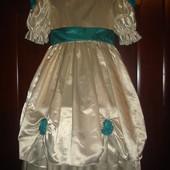 Нарядное платье для девочки 4-5 лет