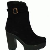 стильные женские ботинки демисезон зима Модель: 828-12